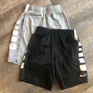 Nike Elite basketball shorts size 5